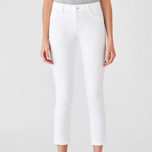 DL1961 Florence crop midrise skinny jeans